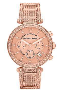 Must have this rose-gold watch!