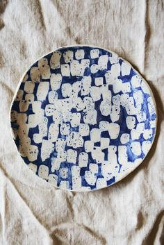 Lauren Bamford 18cm plate 02 | Mr Kitly