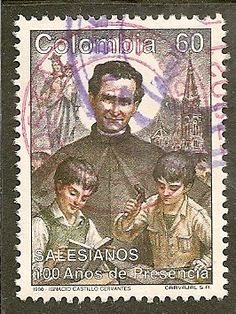 Colombia Scott 1020 Salesian Order Used - bidStart (item 59102126 in Stamps... Colombia)