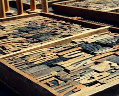 Vintage Wooden Alphabet Letter Printing by pamelajanegallery, $30.00