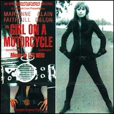 """""""Girl On A Motorcycle"""" (1969, Tetragrammaton).  Music from the movie soundtrack."""