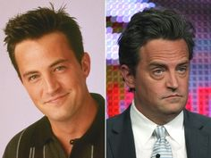 How cute was Matthew Perry when 'Friends' first took off? But these days, could Chandler BE anymore bloated?