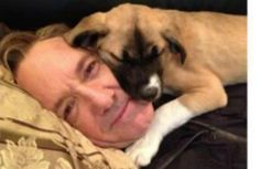 Kevin Spacey Adopts Dog and Names Her Boston