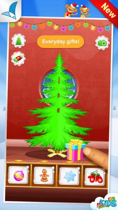 123 Kids Fun Christmas Tree - Xmas Tree Maker - The Appy Ladies Christmas Apps, Cool Christmas Trees, Xmas Tree, Christmas Ornaments, Kids Fun, Cool Kids, Android Apps, Holiday Decor, Gifts