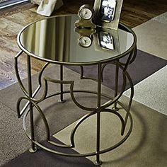 coffee tables.  i like the airiness of this and could see myself using this down the road in an other setting.