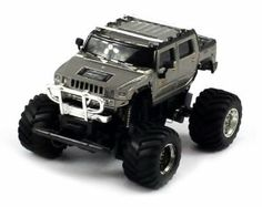 """Mini Cross Country 2207 Electric RC Truck 1:58 RTR (Colors & Styles May Vary) High Performance by Velocity Toys. $24.95. Length: 3""""  Width: 2.5""""  Height: 2"""". Fun Mini Size, Fits in the Palm of Your Hand!  1:58 Scale  Independent Front Spring Suspension!  Hinged Rear Suspension!  Adjustable Front Wheel Alignment. Remote Control requires 3 AA Batteries to run (not included). Working Front and Rear Lights!  Chrome Wheels with Rubber Off Road Tires  Extremely Detail Throughou..."""