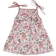 New baby dress - Liberty of London fabric    www.claradeparis.com