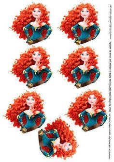 Resultado de imagem para bustos princesas para tubetes gratis