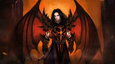 Deathwing's human form   by Voo-Doo-D0ll   Awww! He's hot (^.^) #WoW