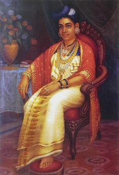 Malayli Princess (Reprint on Paper - Unframed)