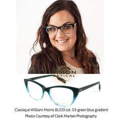 e6ce3a711f0 Classique William Morris BL033 col. 03-green blue gradient Photo Courtesy  of Clark Marten