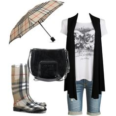 10 Cute Rainy Day Outfits to Care About presenting here for you to choose the best outfit for you while rain coat, rubber boots and an umbrella is still part of outfits. Rainy Day Outfit For School, Cute Rainy Day Outfits, Cute Summer Outfits, Everyday Outfits, Everyday Fashion, Outfit Of The Day, Cool Outfits, Business Casual Jeans, Business Outfits