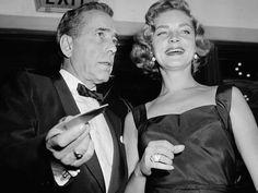 Lauren Bacall e Humprey Bogart