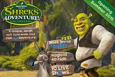 A little bit different to the other family days out, Shrek's Adventure is perfect if you're looking for a lovely meal to go with the perfect day out.