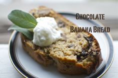 Banana Walnuts Chocolate Truffle Whole Wheat Bread | 365+ Gourmet Meals on a Budget