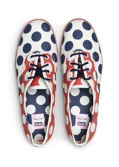 polka dots // Happy Socks & Keds