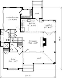 I like this house plan with just a few changes. Current master closet=laundry room, current dining room= master closet and make master bathroom a little bigger.