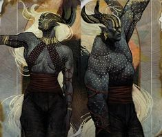 The same goes for females, most Qunari will find it odd if a female becomes a warrior. Description from dragonage.wikia.com. I searched for this on bing.com/images