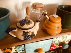 Kitchenware, Tableware, Cottage In The Woods, Tea Time, Tea Pots, Sweet Home, Pottery, Clay, Dishes