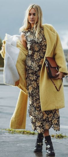Nina Suess Yellow Theme Fall Inspo