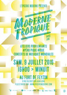 Kolle-Bolle Collectif Graphique: Moderne Tropique 2016