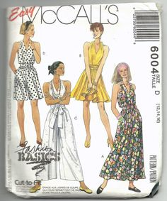 Uncut Misses Size 12-16 Sewing Pattern Easy by ItsSewVintage