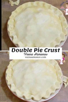 Best Pie Crust Recipe, Easy Pie Crust, Homemade Pie Crusts, Pie Crust Recipes, Pie Crust Recipe With Margarine, Paula Deen Pie Crust Recipe, Double Pie Crust Recipe Butter, Flaky Pie Crust Recipe Crisco, Pie Crust With Lard