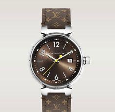 Louis Vuitton Tambour Brun Watch