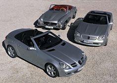 Mercedes-Benz 190 SL (1955-1963) - SLK R170 (1996-2004) - SLK R171 (2004-2010)