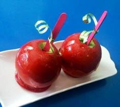 Sour & sweet candy apples