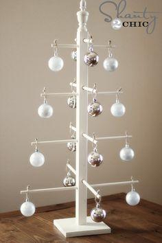 wooden ornament tree