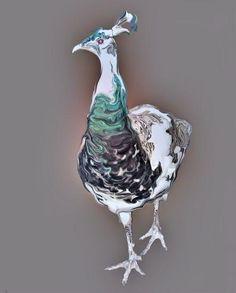 "Aaf Woldinga, ""Betty"", 80 x 62 cm; digitale beeldbewerking."