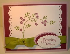 Thoughts and Prayers by Sistah75 - Cards and Paper Crafts at Splitcoaststampers