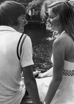 Image detail for -Chris Evert and Jimmy Connors Pic - Image of Chris Evert - AllStarPics ...