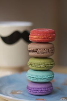 Macarons from Vanille Patisserie? Every flavor of the rainbow that melt in your mouth!