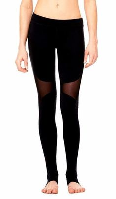 Cheap workout pants, Buy Quality sport leggings directly from China women fitness Suppliers: Women Fitness White Ballet Pants High Waist Mesh Splice Patchwork Sporting Leggings Elastic Workout Pants Best Yoga Leggings, Women's Sports Leggings, Mesh Leggings, Leggings Are Not Pants, Workout Leggings, Women's Leggings, Black Leggings, Yoga Pants, Workout Pants