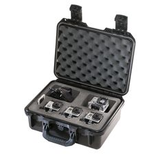 Pelican Storm Case iM2100 - Triple GoPro Camera Case - Black - https://www.boatpartsforless.com/shop/pelican-storm-case-im2100-triple-gopro-camera-case-black/