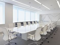 In addition to the office version of the Meda Chair, the Meda Conference chair is available for meeting environments.