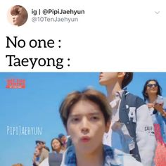 at least we know that he can fluently speak to animals 😂 Lee Taeyong, Nct Life, Funny Kpop Memes, One Direction Memes, Bts And Exo, Jaehyun Nct, Jung Woo, Meme Faces, Kpop Groups