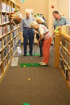 fun fun in the library