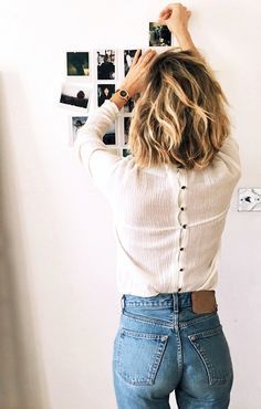 This Blogger Makes a Cool Case for the Button-Back Top via @WhoWhatWearUK