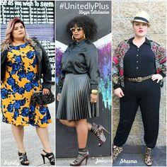 3 Ways to style a bomber jacket-  #plussize #unitedlyplus