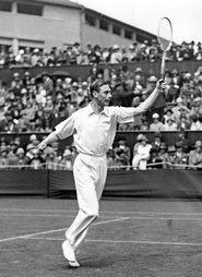 The Duke of York (later King George VI) at Wimbledon.