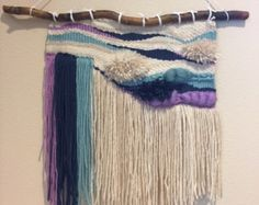 Handmade woven wall hangings by LittleShopOfWoven on Etsy