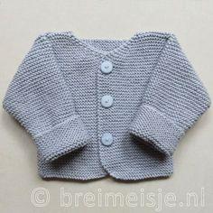 Deilig babyjakke i alpaca (Minstrikk) Baby Boy Knitting Patterns, Knitting For Kids, Baby Patterns, Free Knitting, Baby Boy Cardigan, Baby Vest, Brei Baby, Diy Crafts Knitting, Baby Hands