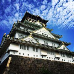 大阪城 Osaka Castle, Japanese Castle, Osaka Japan, Big Ben, Mansions, House Styles, Building, Travel, Viajes