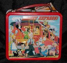 disney  vintage  lunch box