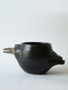 Coffee cup for your favorite crow lover. Created by Swedish artist, Lena Eriksson