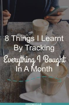Unconvinced that tracking your spending can improve your finances? Well, I tracked everything I bought for a month & these are the lessons I learnt. It's a great way to make money, save money & improve your financial situation
