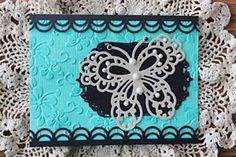 Marianne Design Butterfly Card